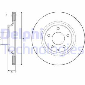Bremsscheibe Bremsscheibendicke: 18mm, Ø: 302mm mit OEM-Nummer F152-26-251