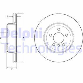 Brake Disc Brake Disc Thickness: 24mm, Ø: 345mm with OEM Number 34206894382