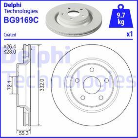 Bremsscheibe Art. Nr. BG9169C 120,00€