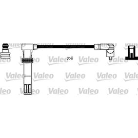 VALEO  346240 Ignition Cable Kit Silicone, Length: 470mm, Length: 391mm, Length 3: 330mm, Length 4: 260mm