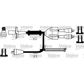 Zündleitungssatz Silikon, Länge: 600mm, Länge: 649mm, Länge 3: 430mm mit OEM-Nummer 7597343