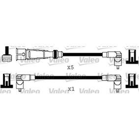 VALEO Zündleitungssatz 346579 für AUDI 90 (89, 89Q, 8A, B3) 2.2 E quattro ab Baujahr 04.1987, 136 PS