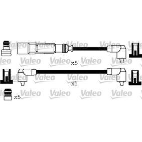 VALEO Zündleitungssatz 346622 für AUDI 90 (89, 89Q, 8A, B3) 2.2 E quattro ab Baujahr 04.1987, 136 PS