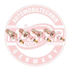 Spark Plug Electrode Gap: 0,8mm with OEM Number 7700273462
