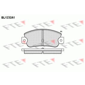 Bremsbelagsatz, Scheibenbremse Höhe: 47,52mm, Dicke/Stärke: 12mm mit OEM-Nummer 5888939