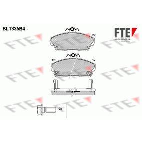 Комплект спирачно феродо, дискови спирачки височина: 68,7мм, дебелина: 18мм с ОЕМ-номер GBP90313