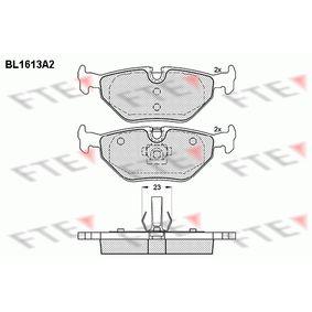 Bremsbelagsatz, Scheibenbremse Höhe: 44,9mm, Dicke/Stärke: 17,3mm mit OEM-Nummer SFP000380