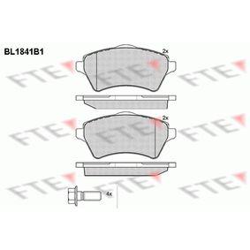 Bremsbelagsatz, Scheibenbremse Höhe: 62,06mm, Dicke/Stärke: 17,5mm mit OEM-Nummer 236.15