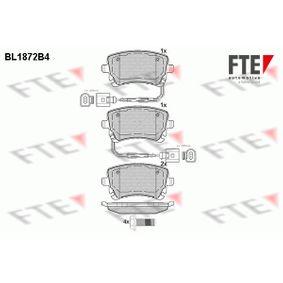 Bremsbelagsatz, Scheibenbremse Höhe: 58,92mm, Dicke/Stärke: 17,4mm mit OEM-Nummer 3D0698451 A
