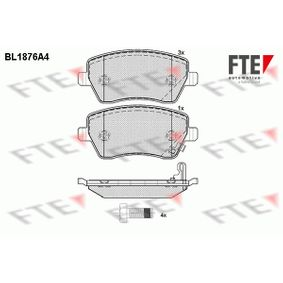 Brake Pad Set, disc brake Width: 116,4mm, Height: 52,4mm, Thickness: 17,3mm with OEM Number 47 01 305