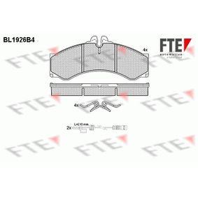 Bremsbelagsatz, Scheibenbremse Höhe: 72,9mm, Dicke/Stärke: 20mm mit OEM-Nummer 000 421 7391
