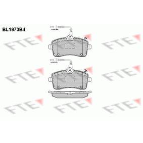 Bremsbelagsatz, Scheibenbremse Höhe: 67,5mm, Dicke/Stärke: 19,5mm mit OEM-Nummer E172236