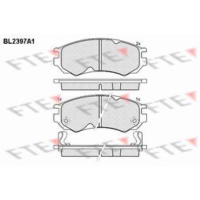 Bremsbelagsatz, Scheibenbremse Höhe: 52mm, Dicke/Stärke: 15mm mit OEM-Nummer D1060 0N685