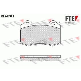 Bremsbelagsatz, Scheibenbremse Breite: 109,7mm, Höhe: 69mm, Dicke/Stärke: 14,7mm mit OEM-Nummer C2C8361