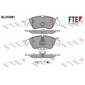 Bremsbelagsatz, Scheibenbremse Höhe 2: 73,6mm, Höhe: 73mm, Dicke/Stärke: 18,4mm mit OEM-Nummer 1567730