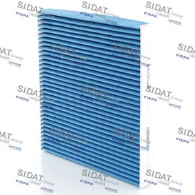 Filter, Innenraumluft Länge: 255mm, Breite: 228mm, Höhe: 30mm mit OEM-Nummer 01718042