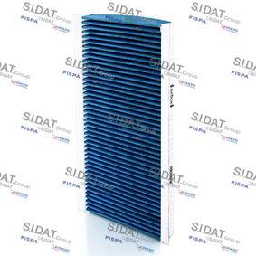 Filter, Innenraumluft Breite 1: 163mm mit OEM-Nummer A415 835 1300