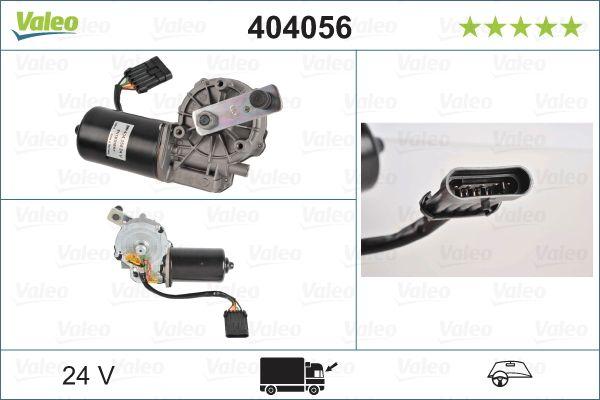 Motor stergator 404056 VALEO 404056 de calitate originală