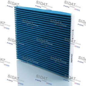 Filter, Innenraumluft Länge: 218mm, Breite: 266mm, Höhe: 21mm mit OEM-Nummer 7 175 4151