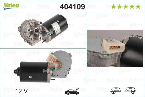 Motor stergator 404109 VALEO 404109 de calitate originală
