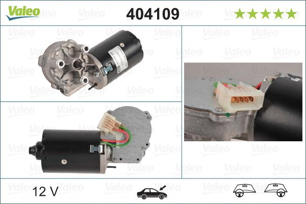 Motor stergator VALEO 404109 3276424041098