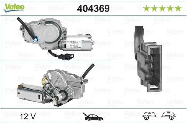 Motor stergator VALEO 404369 3276424043696