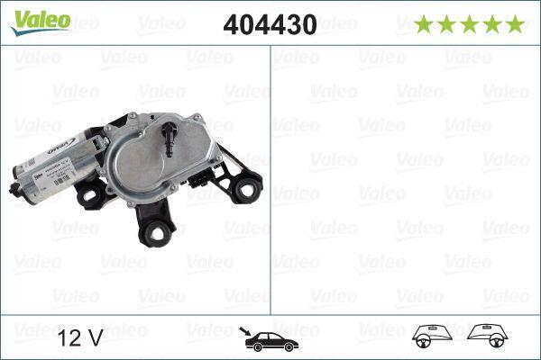 Scheibenwischermotor 404430 VALEO 404430 in Original Qualität