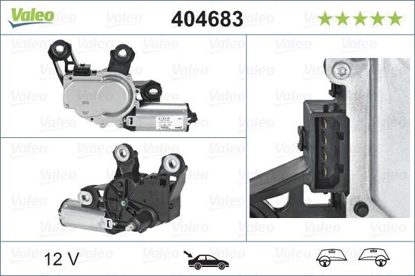 Scheibenwischermotor VALEO 404683 3276424046833