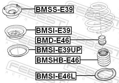 Anschlaggummi FEBEST BMD-E46 Bewertung