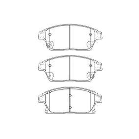 Bremsbelagsatz, Scheibenbremse Breite: 60mm, Dicke/Stärke: 18,3mm mit OEM-Nummer 13412809