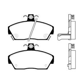 Bremsbelagsatz, Scheibenbremse Breite: 65mm, Dicke/Stärke: 16mm mit OEM-Nummer GBP90314