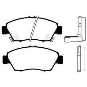 Комплект спирачно феродо, дискови спирачки BP-2023 Jazz 2 (GD_, GE3, GE2) 1.2 i-DSI (GD5, GE2) Г.П. 2005
