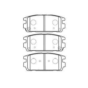Bremsbelagsatz, Scheibenbremse Breite: 46mm, Dicke/Stärke: 14,5mm mit OEM-Nummer 58302H1A00