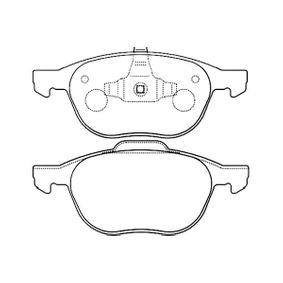 Bremsbelagsatz, Scheibenbremse Breite 1: 65mm, Breite 2: 61mm, Dicke/Stärke: 17mm mit OEM-Nummer BV61-2001B-3A