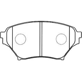 Bremsbelagsatz, Scheibenbremse Breite: 54mm, Dicke/Stärke: 15mm mit OEM-Nummer N0Y9-3323Z