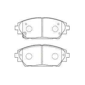 Brake Pad Set, disc brake Width: 55mm, Thickness: 15,5mm with OEM Number B4Y0-33-28ZA