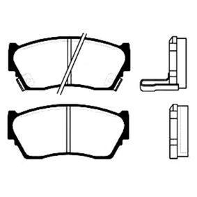 Bremsbelagsatz, Scheibenbremse Breite: 45mm, Dicke/Stärke: 16,5mm mit OEM-Nummer 41060-50Y90