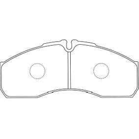 Bremsbelagsatz, Scheibenbremse Breite: 48mm, Dicke/Stärke: 20mm mit OEM-Nummer 41060-9X129