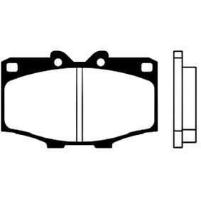 Bremsbelagsatz, Scheibenbremse Breite: 56mm, Dicke/Stärke: 15,5mm mit OEM-Nummer 0446560010