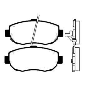 Bremsbelagsatz, Scheibenbremse Breite: 59,5mm, Dicke/Stärke: 17mm mit OEM-Nummer 0446522312