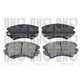 Bremsbelagsatz, Scheibenbremse Breite: 66,6mm, Dicke/Stärke: 19mm mit OEM-Nummer 95 520 061