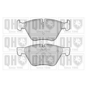 Bremsbelagsatz, Scheibenbremse Breite: 63,6mm, Dicke/Stärke 1: 20mm, Dicke/Stärke 2: 19mm mit OEM-Nummer 34116798190