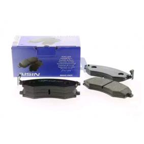 Bremsbelagsatz, Scheibenbremse Breite: 137,2mm, Höhe: 54,2mm, Dicke/Stärke: 17mm mit OEM-Nummer 5 810 13 CA20