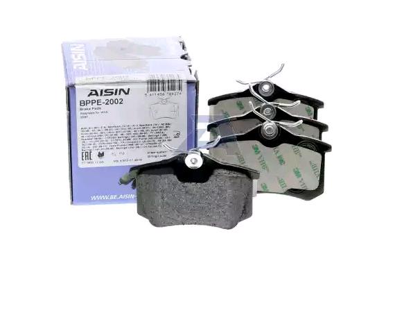 Bremsbelagsatz AISIN BPPE-2002 Bewertung