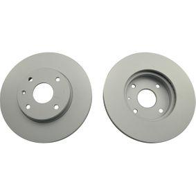 Bremsscheibe Bremsscheibendicke: 24mm, Lochanzahl: 4, Ø: 277,5mm, Ø: 278mm mit OEM-Nummer 5531186Z00