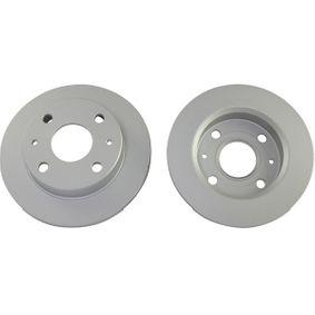 KAVO PARTS Brake disc kit Solid, Coated