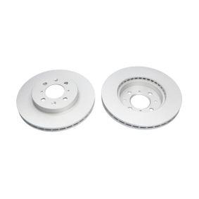 Спирачен диск дебелина на спирачния диск: 21мм, брой на дупките: 4, Ø: 262мм с ОЕМ-номер 45251SK7A10