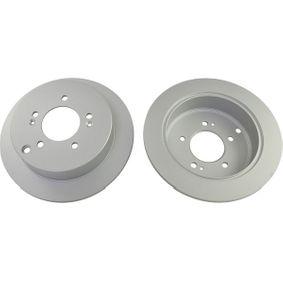 Bremsscheibe Bremsscheibendicke: 10mm, Lochanzahl: 5, Ø: 284mm mit OEM-Nummer 584113A300