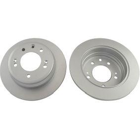 Brake Disc Brake Disc Thickness: 10mm, Num. of holes: 5, Ø: 262mm, Ø: 262mm with OEM Number 5 841 11 H300
