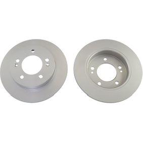 Bremsscheibe Bremsscheibendicke: 10mm, Lochanzahl: 5, Ø: 258mm, Ø: 258mm mit OEM-Nummer 58411 1P300